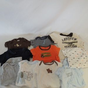 mixed lot of infant boys shirts 6 mos (10)